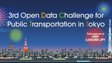 Tokyo The 3rd Open Data Challenge for Public Transportation