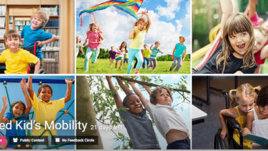 Disabled Kid's Mobility Challenge
