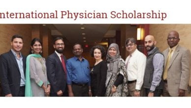 American Academy of Hospice and Palliative Medicine (AAHPM) International Physician Scholarship to attend the 2020