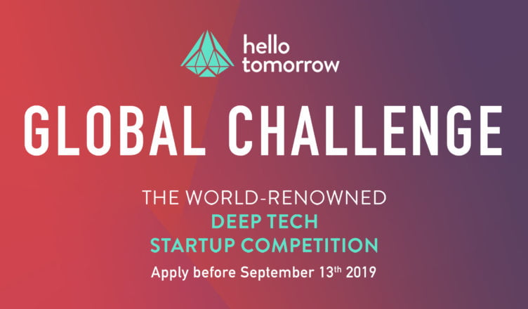 Hello Tomorrow Global Science & technology startup competition