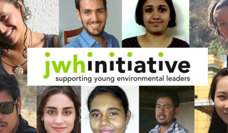JWH Initiative Grants 2019 for Young Environmental Leaders