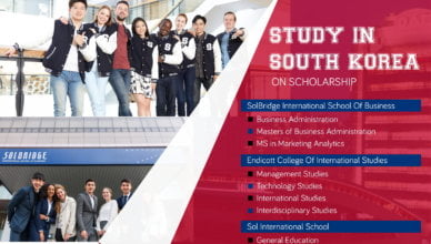 South Korea Partial Scholarship