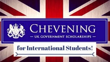 British Chevening Scholarship for International Student 2020