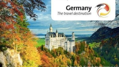 Create beautiful, colourful artwork that captures Germany's diverse destinations