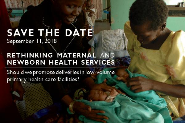 Maternal & Newborn Health challenge