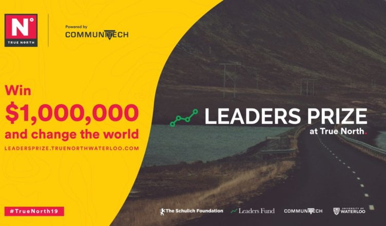 The Leaders Prize will award $1 million