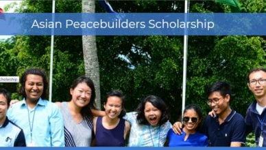 University of Peace Asian Peacebuilders Scholarship 2020