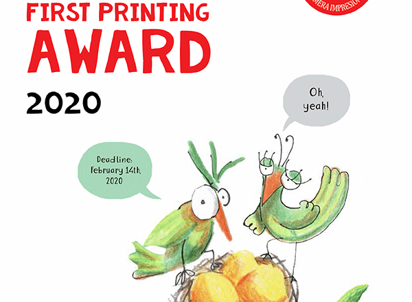 Apila's First Printing Award 2020