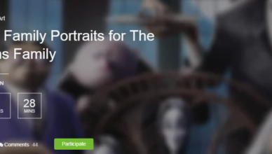 Create Family Portraits for The Addams Family competition