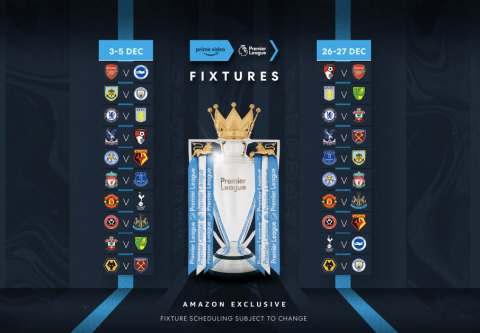Create inspiring artwork for Amazon Prime Video and the Premier League Clubs competition