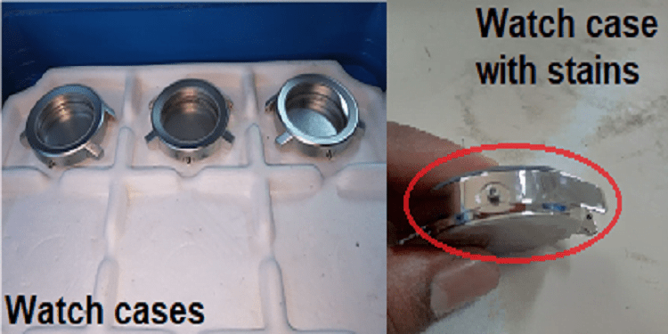 Elimination Of Stains From Watch