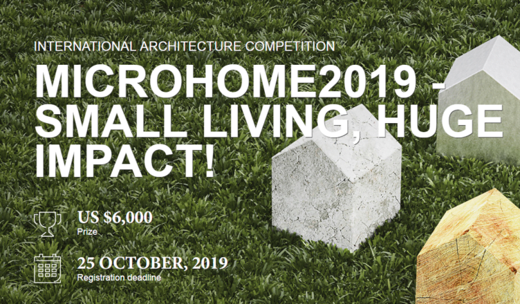 International architecture competition Microhome 2019