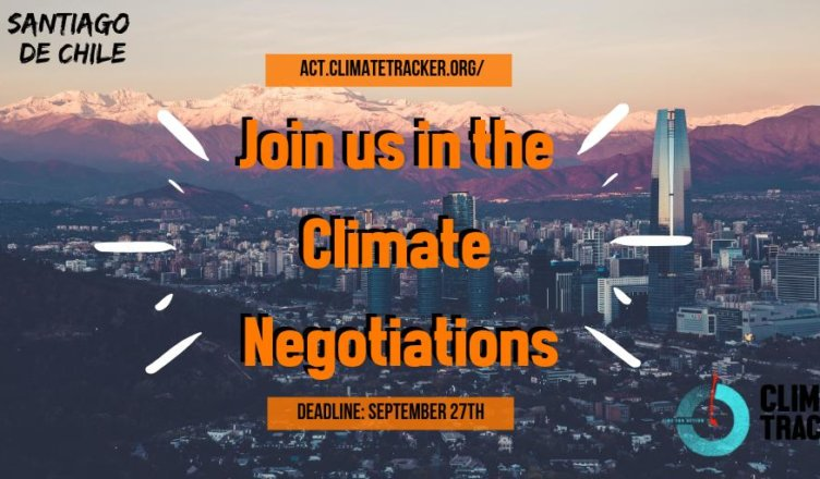 Join Climate Tracker at the COP25 Climate Negotiations in Chile