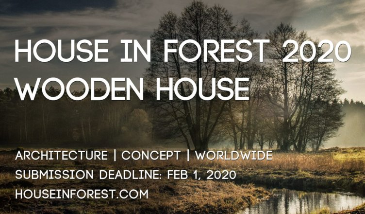 House In Forest 2020