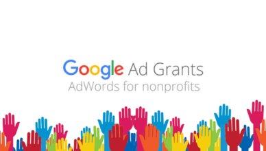 Non profits Google Ad Grants