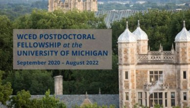 Weiser Center for Emerging Democracies Postdoctoral Fellowship 2020
