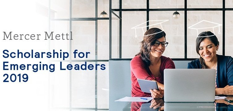 Mercer Mettl Scholarship for Emerging Leaders 2019