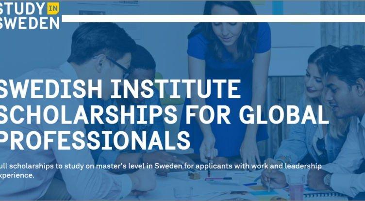 Swedish Institute Scholarships 2020