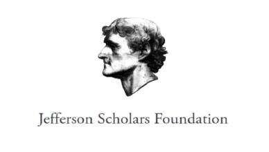 Jefferson Scholars Foundation National Fellowship Program 2020