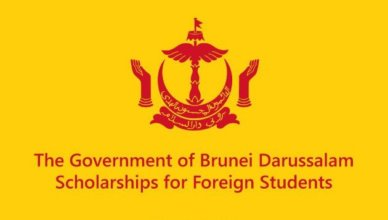 Brunei Darussalam Government Scholarship for International Students