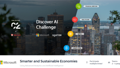 Microsoft Smarter and Sustainable Economies competition