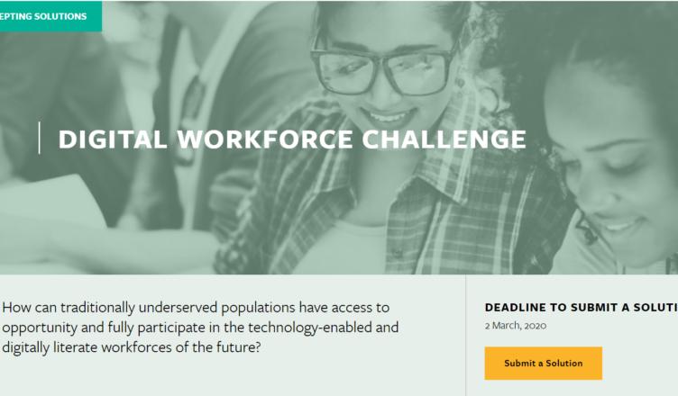 USD $100,000 Digital workforce challenge