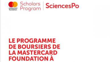 Sciences Po Mastercard Foundation (Bachelor & Master) Scholars Program 2020