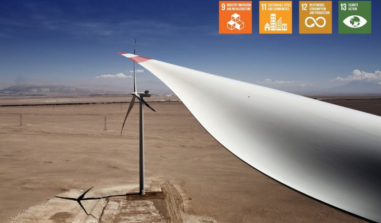 Producing Glass Wool and Insulating Building Materials from Wind Turbine Blades challenge