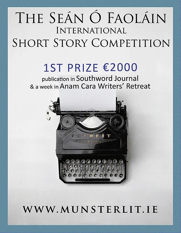 The Seán Ó Faoláin Short Story Competition 2020