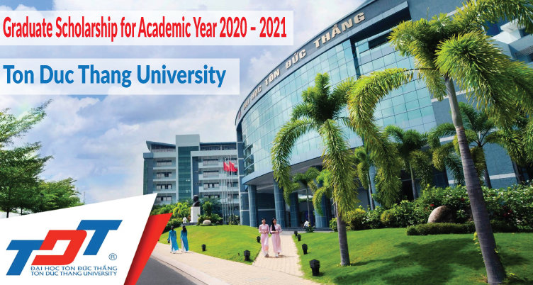 Ton Duc Thang University Graduate Scholarship for Academic Year 2020