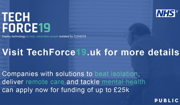 UK's National Health Service launches £500,000 COVID-19 tech competition