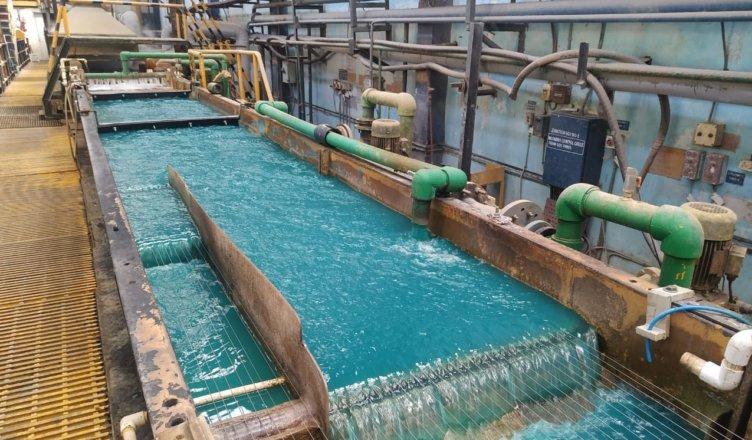 Bath Chemistry during bronze coating
