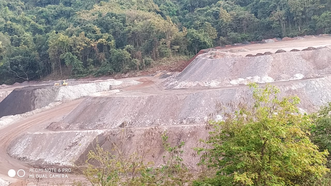 Techniques to remotely monitor the growth of plantation in mining dumps