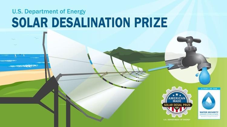 $1 million grand prize Solar Desalination challenge