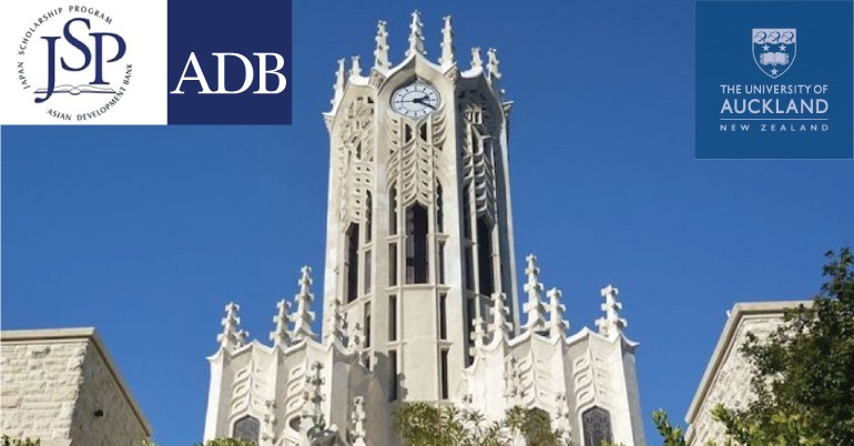 Asian Development Bank – Japan Scholarship Program at University of Auckland