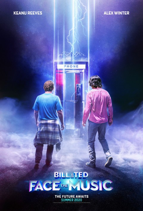 Create exciting artwork for Bill & Ted Face the Music