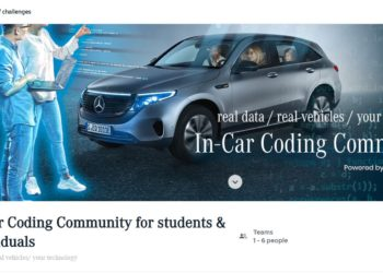 In-Car Coding Community For Students &Amp; Individuals Competition