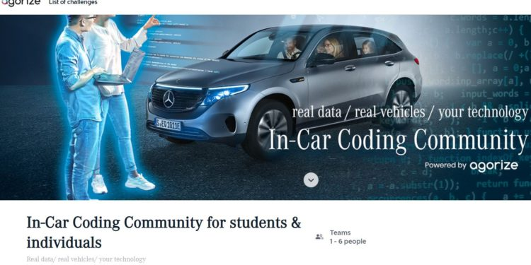 In-Car Coding Community for students & individuals competition