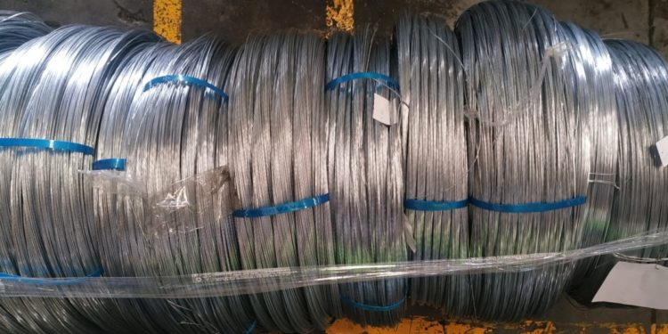 Measuring surface Gloss of Galvanized Iron (GI) wires