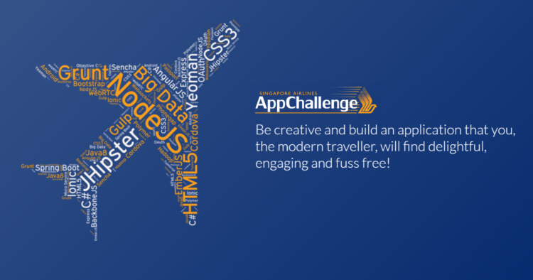 Singapore Airlines AppChallenge 2020