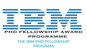 IBM Ph.D. Fellowship Awards Program 2021