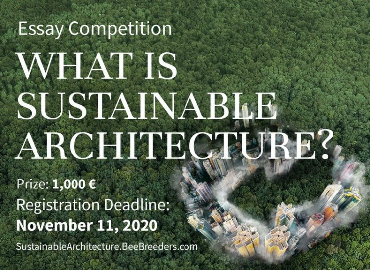 What is Sustainable Architecture - Essay competition