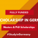 Daad Study Scholarships For A Postgraduate Or Master'S Degree Completed In Germany