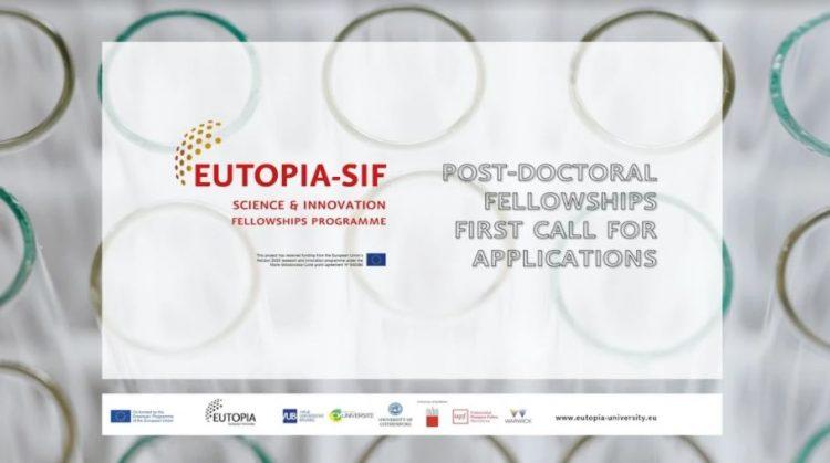 EUTOPIA Science and Innovation Fellowship Programme - EUTOPIA SIF