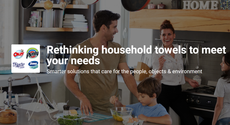 Essity Rethinking household towels to meet your needs Hyve contest