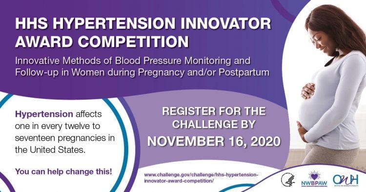 HHS Hypertension Innovator Award Competition