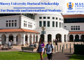Massey University International Student Excellence Scholarships