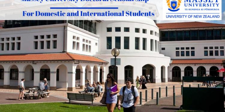 Massey University International Student Excellence Scholarships