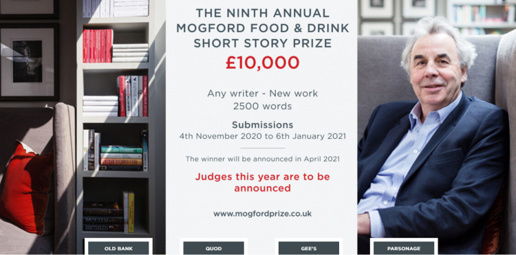 The Mogford Prize for Food and Drink Writing