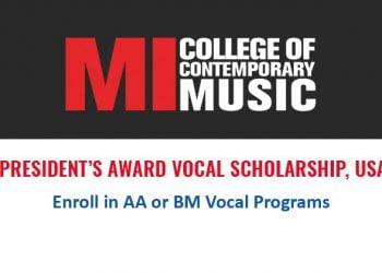 The President's Award Vocal Scholarship